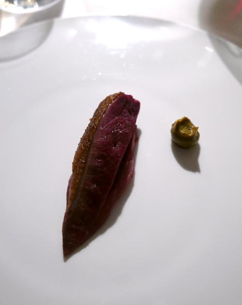 Pigeon and pistachio