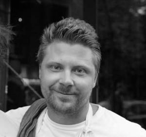 Joakim Almqvist, chef owner at Punk Royale in Stockholm.