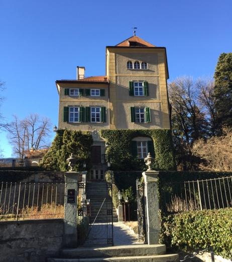 Schloss Schaustein in Fürstenau, Switzerland close to the border of Italy.